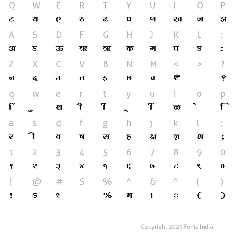 Download SHREE-DEV7-2391 Regular: Download for free at FontsIndia ...